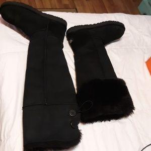 Over the knee uggs Devandra boots